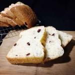 蔓越莓椰蓉牛奶面包