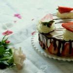 巧克力草莓慕斯#舌尖上的春宴#