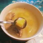 雪莲果老鸭汤