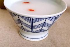 养生白米粥