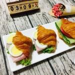 枫糖牛角三明治