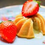 草莓熔岩蛋糕