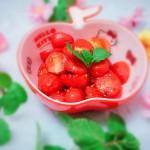 健康烤番茄