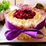 豆乳水果蛋糕