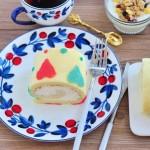 彩心蛋糕卷