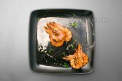 蘑菇汁焗海虾