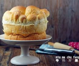 黄油皇冠面包