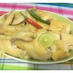 海南人做的海南白切雞飯