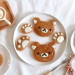 轻松熊松饼