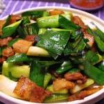 【沙茶美食】五花肉炒蒜苗--能让你多吃一碗饭的下饭菜