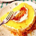 拿破仑酥蛋糕卷#我的烘焙不将就#