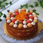 水果裸蛋糕#我的烘焙不将就#