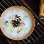 芹菜香菇虾米粥#美的女王节#