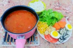 番茄米线#美的女王节#