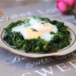 鲜美荠菜煎蛋