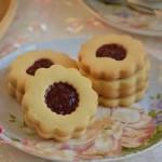 树莓夹心饼干