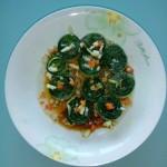 翡翠响油黄瓜卷