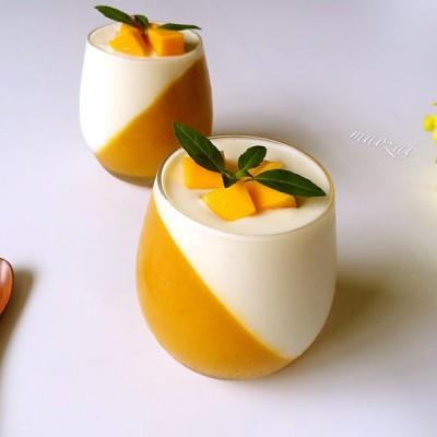 芒果酸奶冻