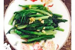 蚝油蒜末油麦菜