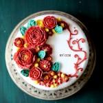 红玫瑰蛋糕#我的烘焙不将就#