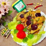 香菇蒸鸡翅+#春天就酱吃#