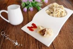 东北榛蘑猪肉馅饺子
