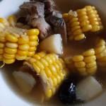 山药玉米脊骨汤