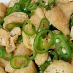 小炒油豆腐青椒
