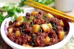 土豆蒸肥肉