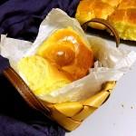 南瓜中种老面包