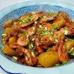 阿桂明虾煲