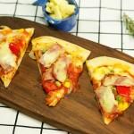 自己在家就能做披萨 再也不用点外卖啦——培根披萨