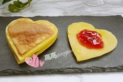 #面大师硅胶煎饼模试用#爱心松饼