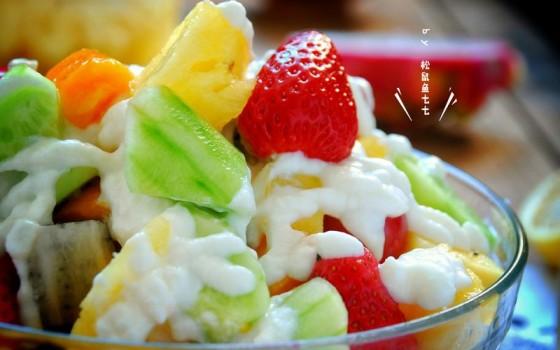 蔬果酸奶沙拉