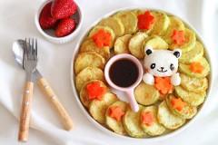 韩式香煎西葫芦小饼