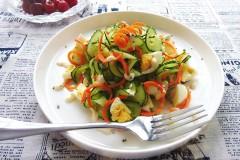 鸡蛋黄瓜沙拉