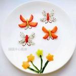 水果拼盘——蝴蝶