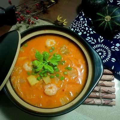 韓式海鮮酸醬湯