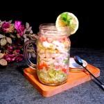 蟹柳生菜沙拉杯