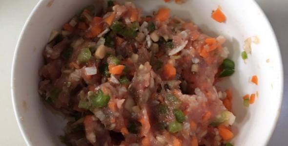 儿童菜-肉丸 什锦 菜 蔬菜