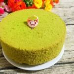 菠菜戚風蛋糕