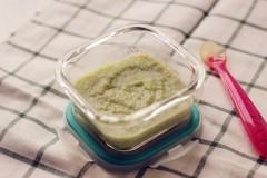 7个月宝宝辅食食谱-鲈鱼豌豆泥