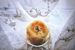 普通面粉做出 低脂绵软红豆包