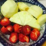 夏日特饮——草莓菠萝汁