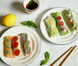 缤纷夏日summer rolls