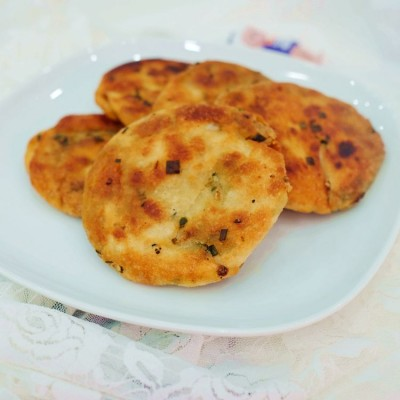上海葱油饼