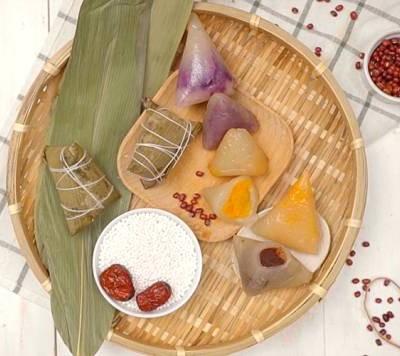 西米水晶粽子