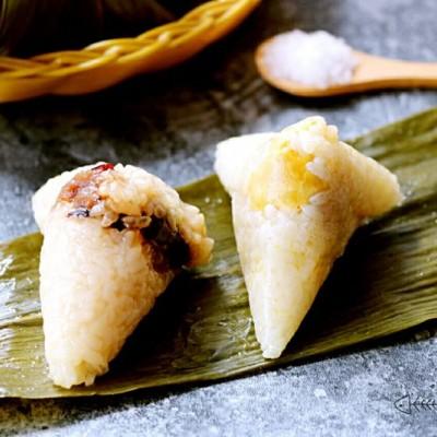 甜味蜜枣粽子&蛋黄粽子的做法和配料