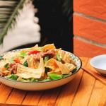 腐竹青椒炒肉片