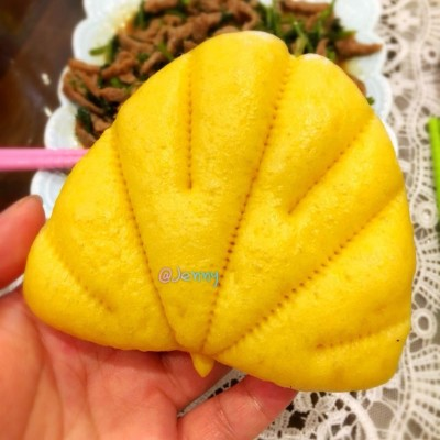 南瓜荷叶饼